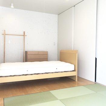 【洋室4.2帖】ベッド派か......