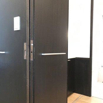 ここの隠し扉には