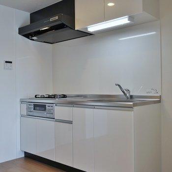 自炊のし易そうなキッチン※写真は同タイプの別室