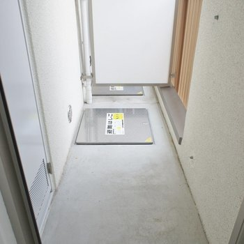 普通サイズ!。1階のお部屋にはバルコニーがありません
