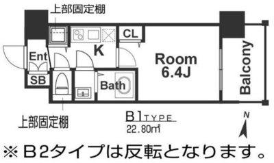 アドバンス新大阪ウエストゲートⅡ の間取り