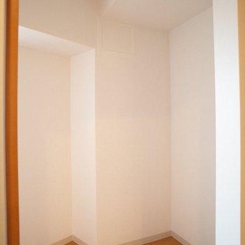 こちらも収納!※写真は8階の同間取り別部屋のものです