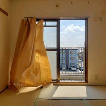 約6帖の和室。※写真は3階同間取り別部屋のものです