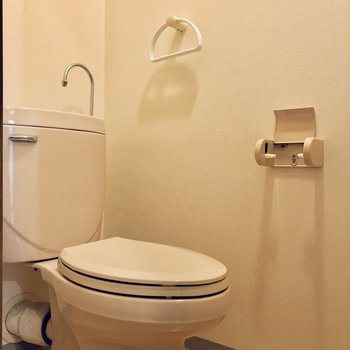 【工事前】トイレは既存利用ですが温水洗浄便座つきます!