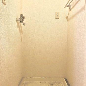 【工事前】洗濯機置場は既存利用です