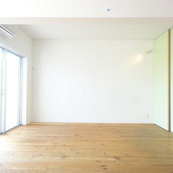 日当たりgood!※写真は3階の同間取り別部屋のものです。