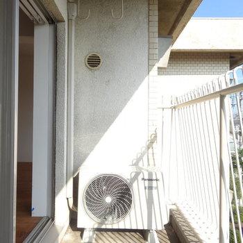太陽光がまぶしいっ※写真は3階の同間取り別部屋のものです。