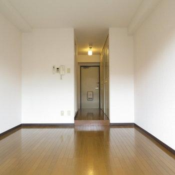 壁面が多いのがいいですね(※写真は3階の同間取り別部屋のものです)