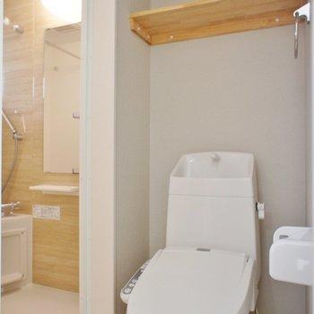 トイレを経由してお風呂。※写真は前回募集時のものです