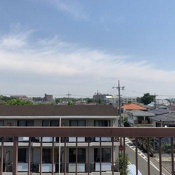 眺望は住宅街