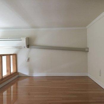 7帖ものスペースがあります。※写真は1階の同間取り別部屋のものです