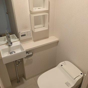トイレも十分広いです!