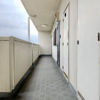共用廊下、キレイです!