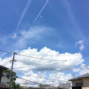 夏の空がすき