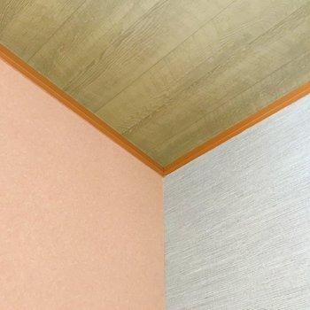【おまけ和室】天井と壁は、贅沢な3色で