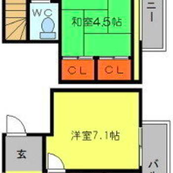2階建てになってます。