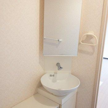 2階】鏡と手洗い場まで!
