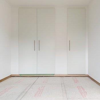 【工事中】和室は新しい畳を敷きますよ
