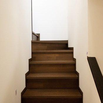 さあ上の階にいってみましょう!