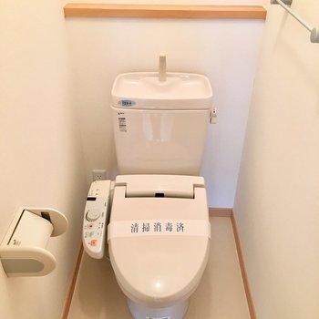 やっぱりトイレは個室じゃないと。