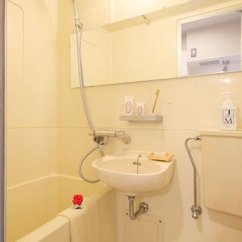 気持ちのいい水圧のシャワーが浴びられそう・・・!※写真は前回募集時のものです