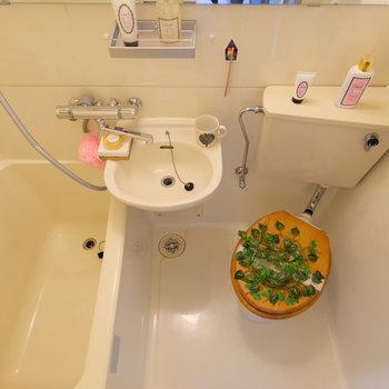 ナチュラルで清潔感ある水回り! *写真は反転・別部屋です
