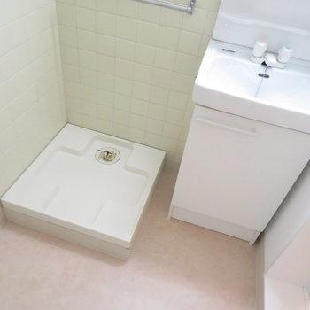 洗面脱衣所にあります