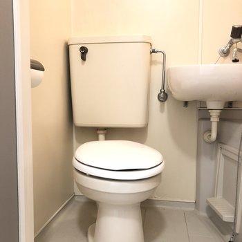 こちらがトイレ。