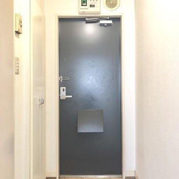 さてさて、玄関を見てみましょうか。