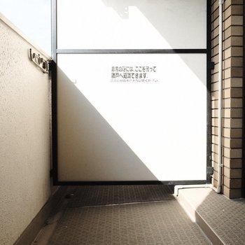 幅もあって日当たりもよしっ※写真は3階の反転間取り別部屋、モデルルームのものです