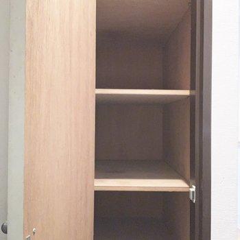 高さがしっかりした靴箱ですね。※写真は4階同間取り別部屋のものです