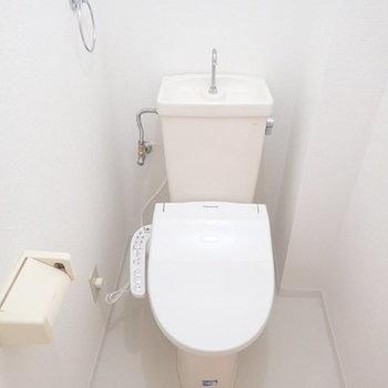 トイレはウォシュレット完備!