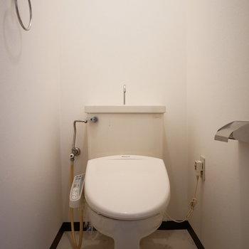 トイレはウォシュレットがついています
