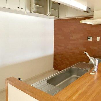 キッチンスペース、かなり広い!
