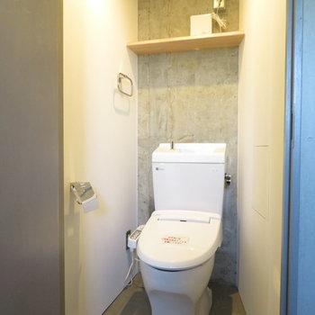 パントリー横にはもう一つのトイレが