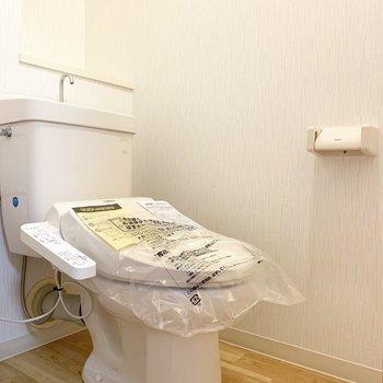 トイレのスペース広め◎