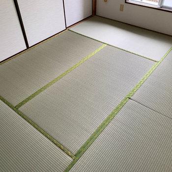 【和室6帖】畳を素足で歩いたら気持ちがいいだろうな。
