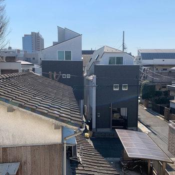 眺望は近所のお家やマンション