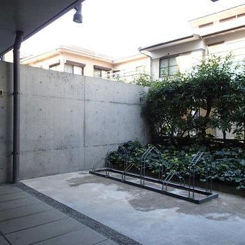 駐輪場は安心のオートロック内です。