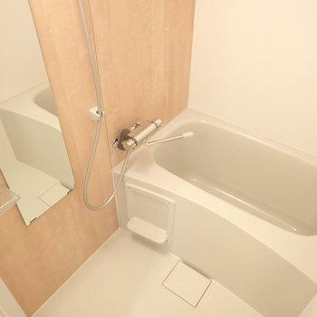 お風呂もピカピカ新品※写真はモデルルームです。