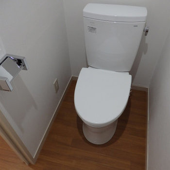 トイレにはウォームレット※写真は前回募集時のものです