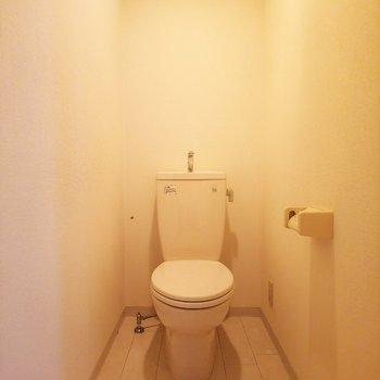 トイレはシンプルです。