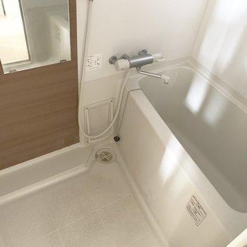 お風呂は狭めだけど、これはもう慣れだね♪
