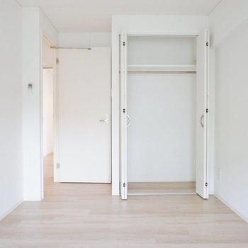 各部屋に収納も!※写真は3階同間取り別部屋のものです