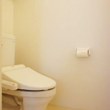 トイレも個室ですねー※写真は3階同間取り別部屋のものです