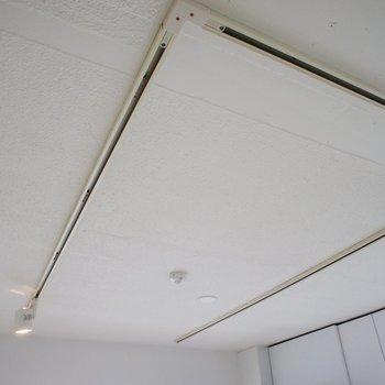 やっぱり、ライティングレールがいいね。※写真は3階同間取り別部屋のものです