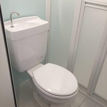 トイレはすごくキレイ。