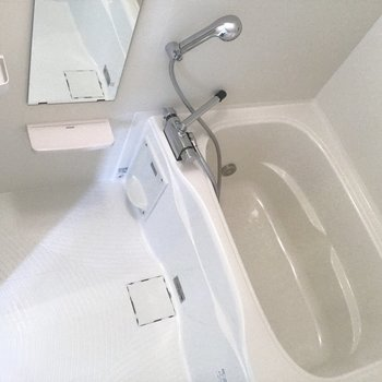 浴室乾燥機付き。※写真は前回募集時のものです