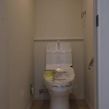 トイレもキレイ!