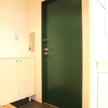 ドア可愛い